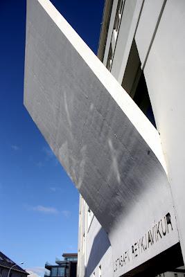 Art museum in Reykjavik Iceland