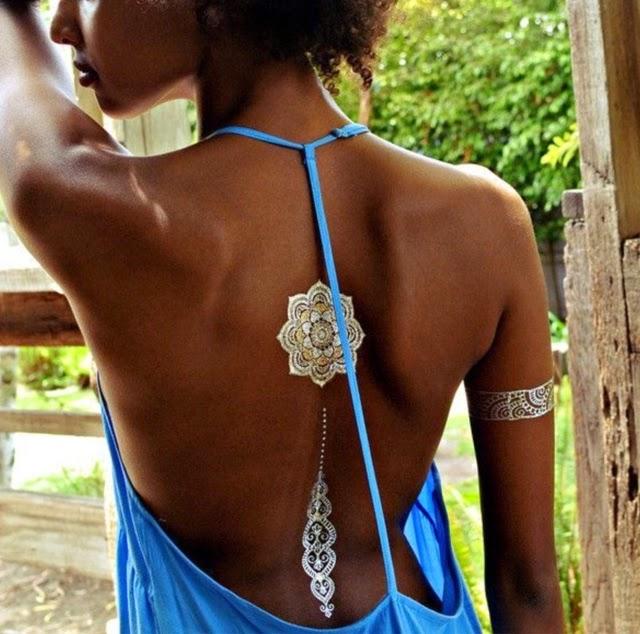 Beautyadvisor Fokus Na Nowy Trend Metaliczne Tatuaże
