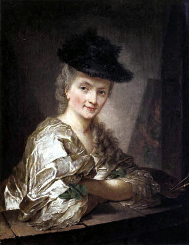 Anna Dorothea Therbusch - Self-portrait