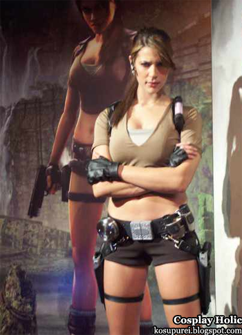 tomb raider cosplay - lara croft