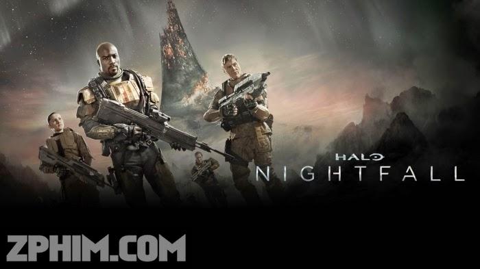 Ảnh trong phim Cuộc Chiến Ngoài Hành Tinh - Halo: Nightfall 1
