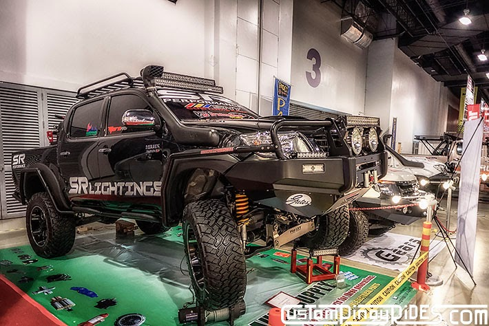 Some of the Best Modified 4x4s of 2013 Manila Auto Salon Custom Pinoy Rides Car Photography Philippines Philip Aragones Toyota Hilux3