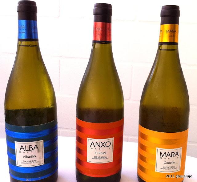 Vino Anxo 2010, Mara 2010 y Alba 2010