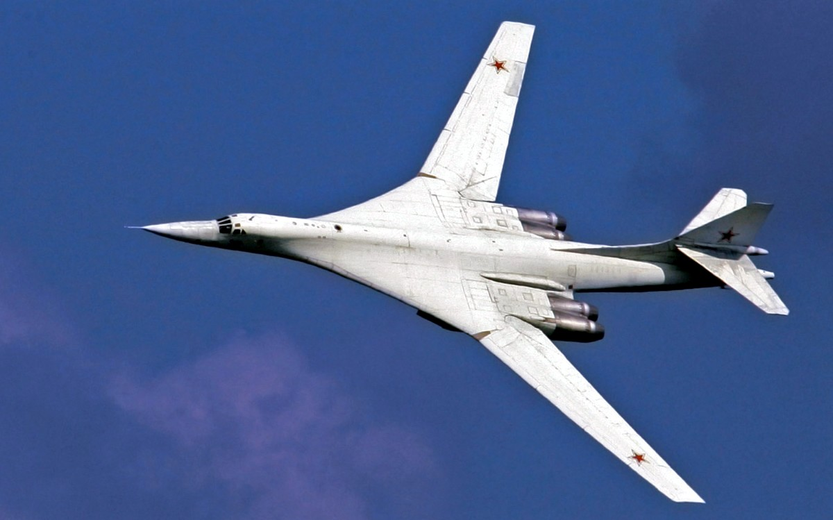 Tupolev Tu-160 Bomber Aircraft Wallpaper 3