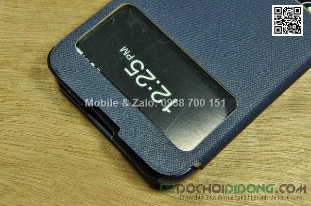 Bao da LG Optimus G Pro F240 E980 Lots Double View