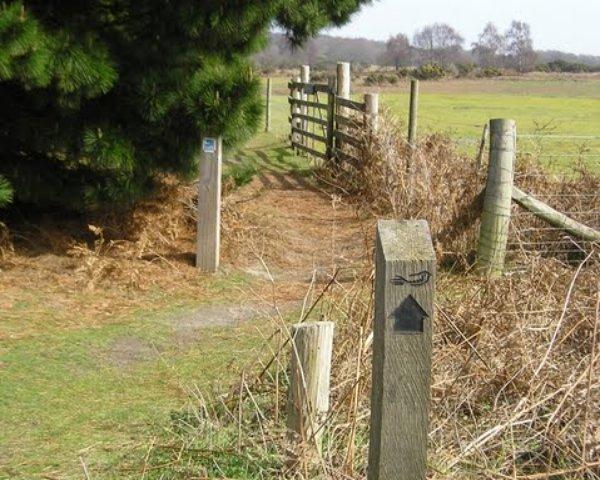 The Sandlings Waymarker