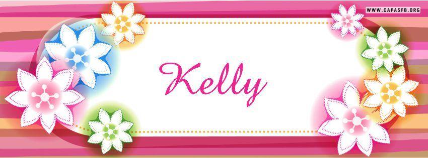 Capas para Facebook Kelly