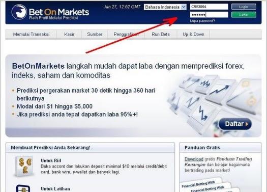 Betonmarkets login