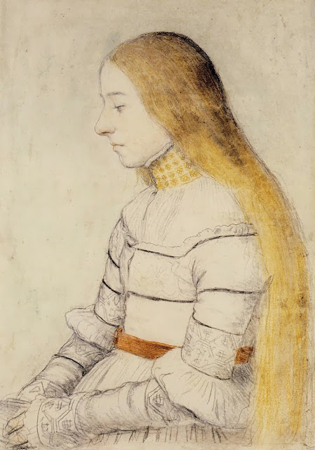 Hans Holbein the Younger - Anna Meyer
