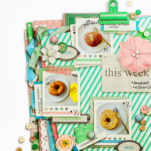 This Week: Doughnut Research // 12x12 // Days of the Week: Tuesday by Mari Koegelenberg + Sugarplum Paperie