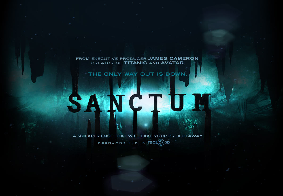 thehatperson s bloggy blog of blogness movie review james movie review james cameron s sanctum