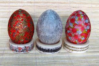 washi eggs photo