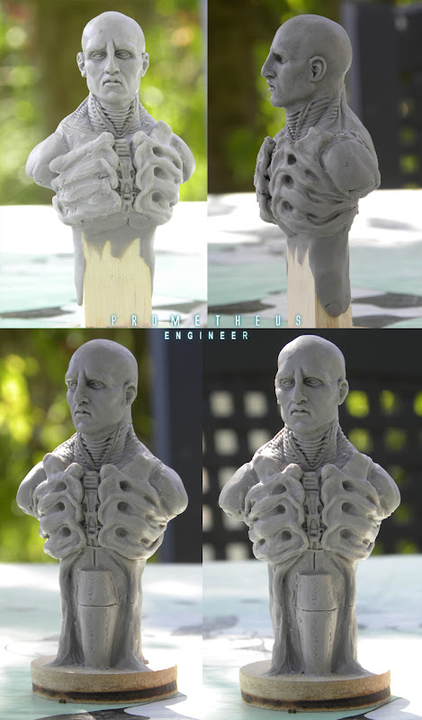 Prometheus engineer bust 1/10 Ingenieur03