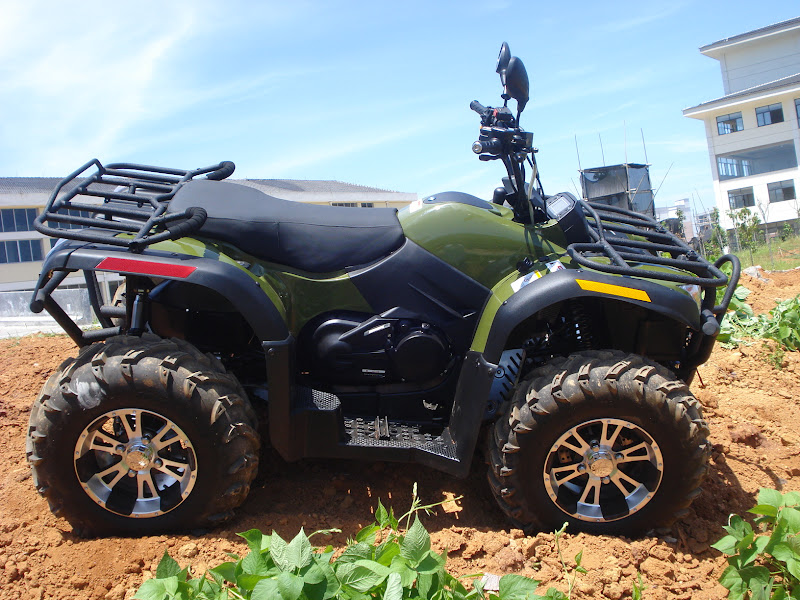 500cc 4wd Rubicon ATV Farm 4x4 Quad Bike Green