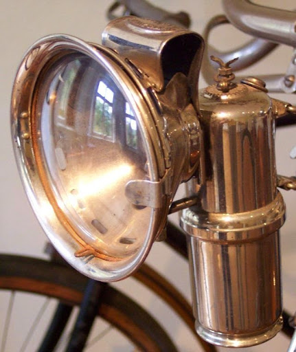 carbid lamp  1910
