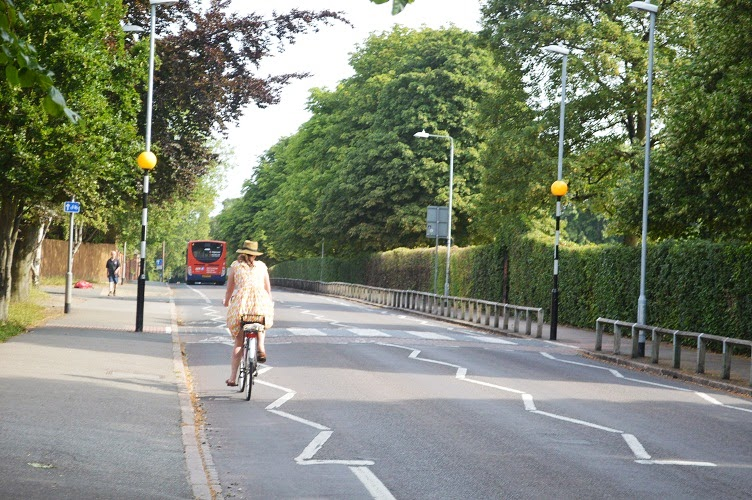 Sepeda Ontel di Cambridge : yang tak lekang diterjang arus
