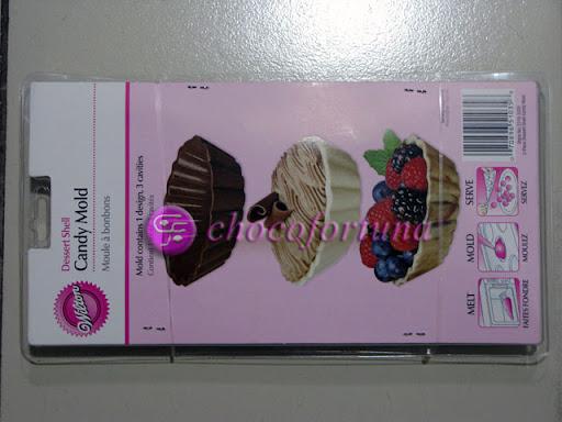 Cetakan Coklat Tray Dessert Shell