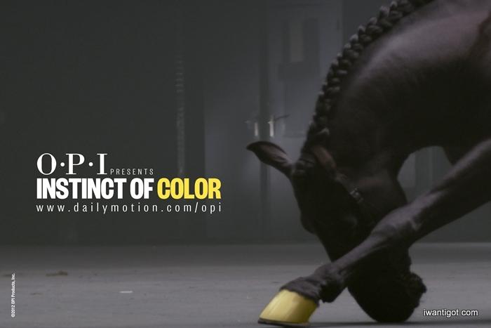 OPI - Instinct of Color