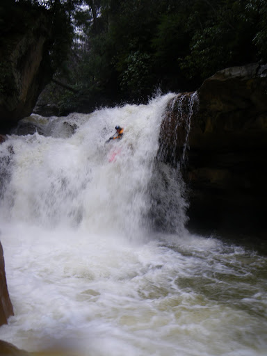The Matador! Adam Johnson routing, direct, down the stout on Bull Run, Masontown, WV.