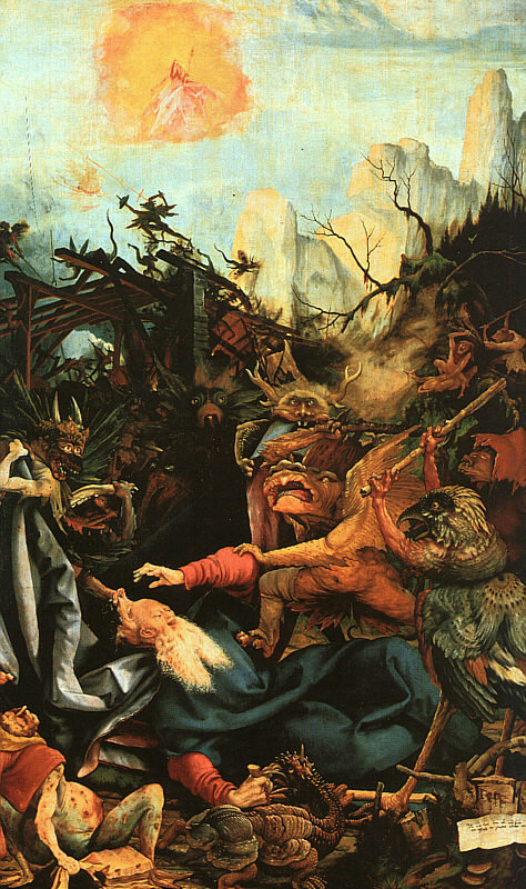 Isenheim Altarpiece - 'The Temptation of St. Anthony' - by Matthias Grünewald