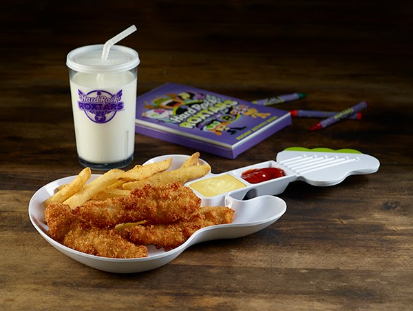 New Roxtars Themed Meals from the Hard Rock Cafe #ThisIsHardRock #HRRoxtars