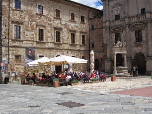 Montepulciano. From A Zany Slice of Italy