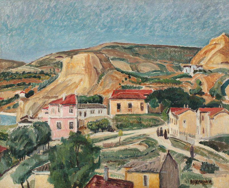 Lucian Grigorescu - Peisaj la Balcic