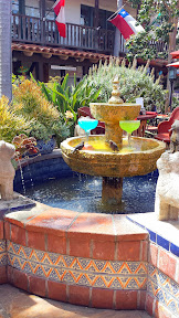 A margarita fountain at Fiesta De Reyes in Old Town San Diego