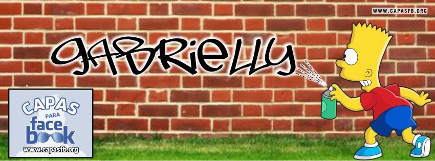 Capas para Facebook Gabrielly