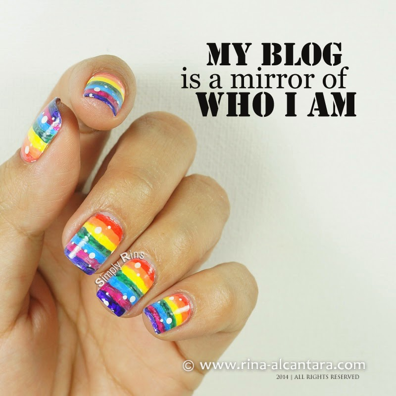my blog is a mirror of who i am
