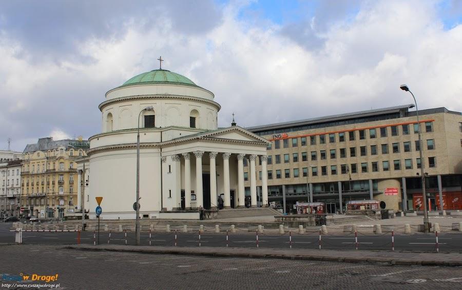 kościół Świętego Aleksandra na Placu Trzech Krzyży