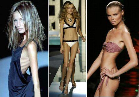 Skinny women win