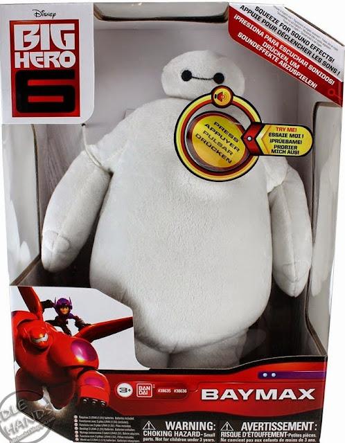 Thú bông White Baymax Plush phát tiếng là mô hình bằng bông mô phỏng nhân vật chính của bộ phim hoạt hình Big Hero 6