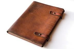 кожаная папка ручной работы № 174 А4