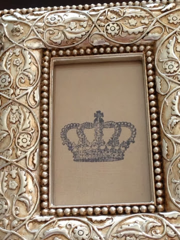 crown stamp frame