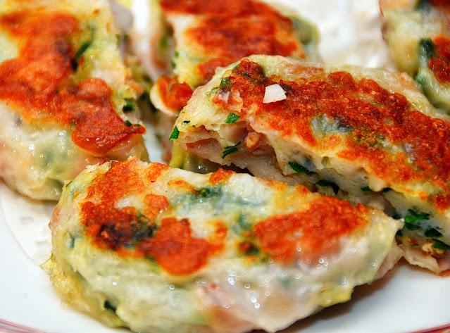 鱼茸莲藕饼
