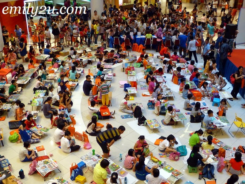 Merdeka children colouring contest