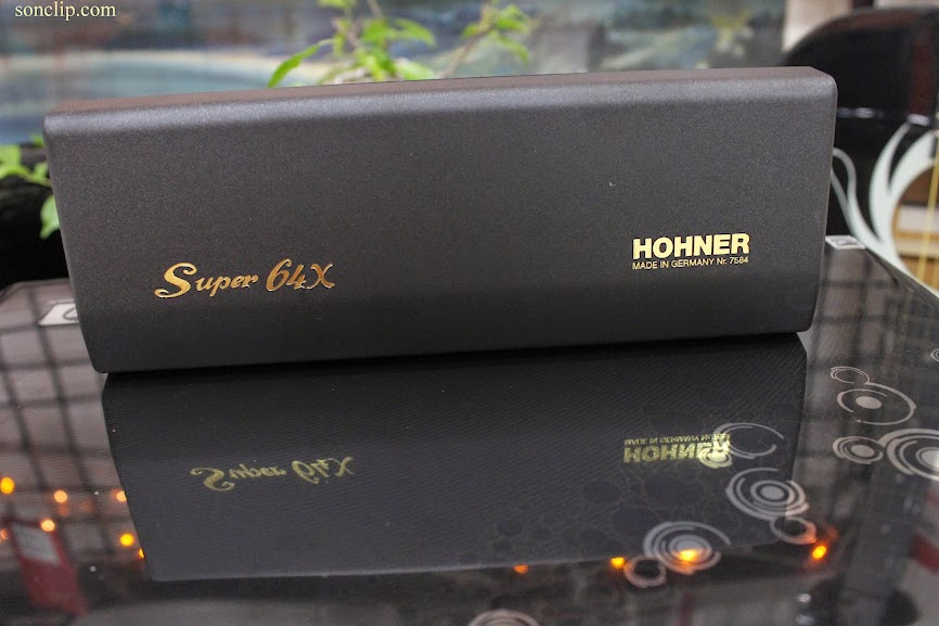Kèn Harmonica - Hohner Super 64x