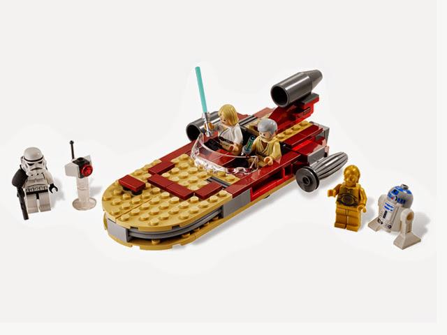 8092 レゴ ルークのランドスピーダー