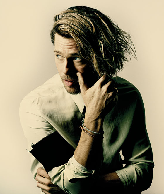 Brad Pitt by Nadav Kander for New York magazine, September 2011