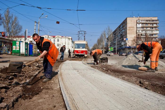 Запорожские коммунальщики выдали секретный маршрут Януковича