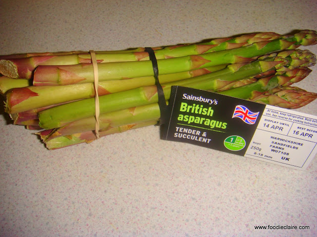 Asparagus Season starts in April and ends around mid June