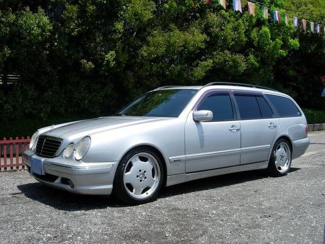 Mercedes benz w210 wagon amg bodykit benztuning for Mercedes benz wagons