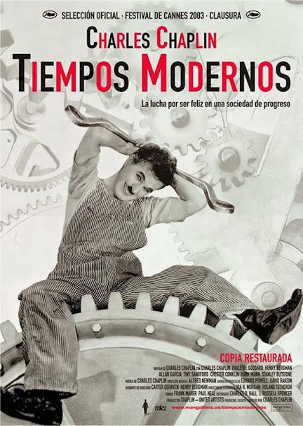 Tiempos modernos, cartel
