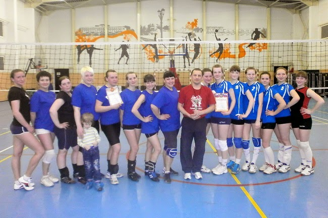 Первенство Углича по волейболу 2014
