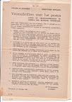 Voorschriften voor deelname aan de kabelwaacht in Enschede. Van 10 oktober 1941.