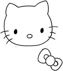 Hello Kitty Para Broche De Fieltro