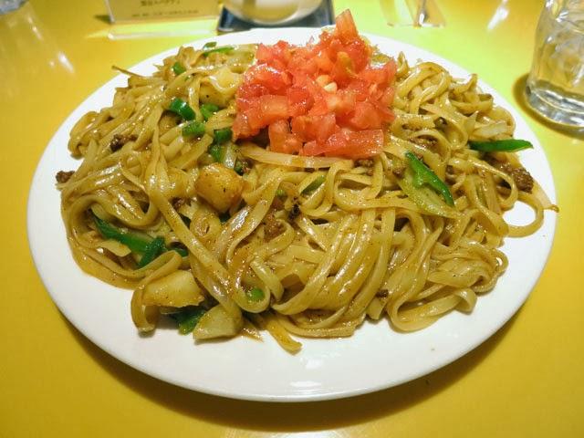 関谷スパゲティのカレーミート@ダブル大盛り