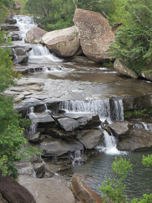 Cascades, Royal Natal National Park, Drakensberg - Zuid Afrika