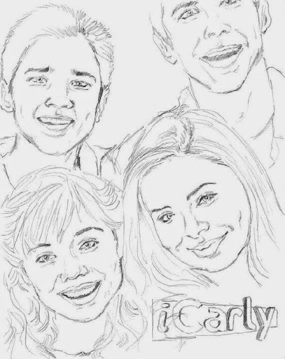 Icarly Coloring Sheets | Free Coloring Sheet - Coloring Home | 512x407